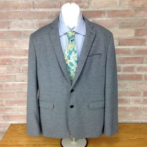 Express Blazer Slim Fit Photographer Jacket Plaid